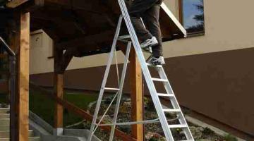 Полезные рекомендации по выбору алюминиевой лестницы