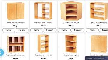 Какими должны быть шкафы в детский сад и школу