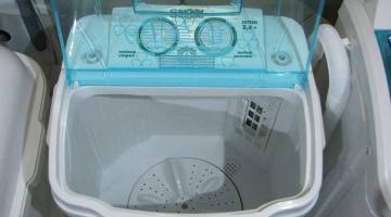 Спрос на мини стиральные машины растет