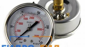 Манометры для гидравлического оборудования доступны по выгодным ценам