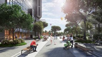 В Киеве строится уникальный «зеленый» жилой комплекс
