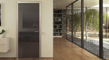 Причины задуматься о покупке стеклянных дверей