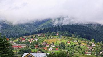 Карпаты – популярное направление внутреннего туризма в Украине