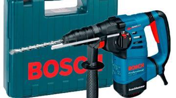 Какие преимущества имеют перфораторы Bosch
