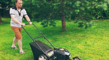 Современные газонокосилки значительно упрощают уход за приусадебным участком