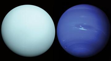 Похоже, ученые снова заинтересовались Ураном и Нептуном