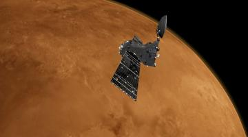 «Экзомарс» передал первые снимки с новой орбиты