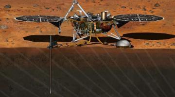 Модуль InSight успешно отправился на Марс