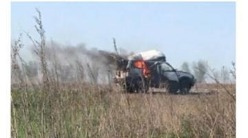 ООС: боевики уничтожили транспорт с гуманитарной помощью
