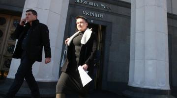 Савченко подала в суд иск на Верховную Раду