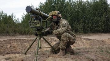 В Украине начали разработку противотанкового ракетного комплекса ІІІ поколения