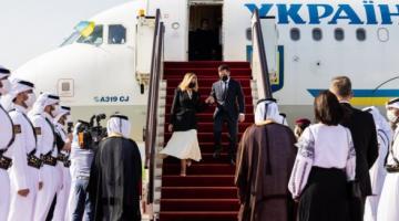 Зеленский назвал главную цель визита в Катар