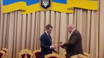 В Ровно представили нового руководителя областной прокуратуры