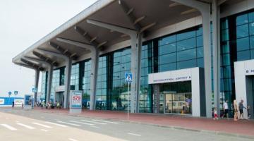 Пьяный немец подрался с пассажирами и пограничниками в аэропорту Харькова