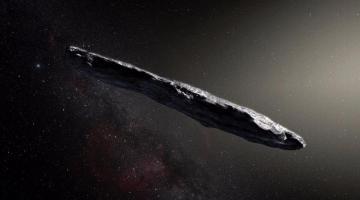 Ученые объяснили странную форму «инопланетного» астероида Умуамуа