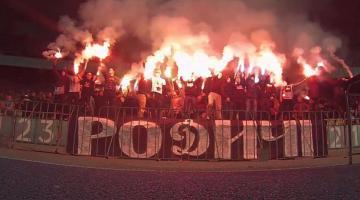 Футбольные ультрас устроили массовую драку в Киеве