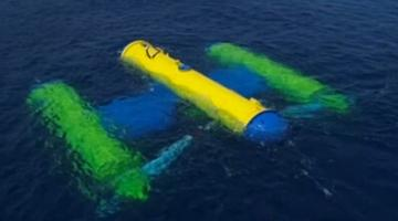 Япония успешно испытала подводную электростанцию