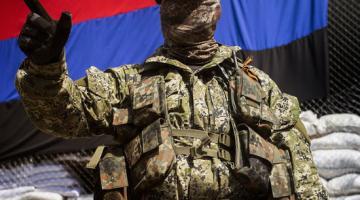 В Донецкой области добровольно сдался экс-боевик