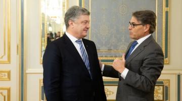 Порошенко и министр энергетики США обсудили противодействие строительству