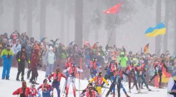 Стал известен состав украинских сборных на эстафетные гонки Кубка мира по биатлону