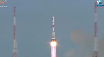 Россия запустила ракету Союз-2 с 28 спутниками