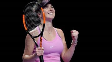 Свитолина вышла в финал Итогового турнира