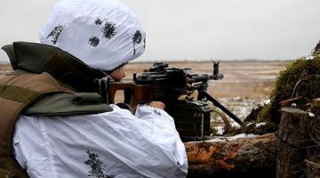 В последний день зимы на Донбассе ранили троих украинских военных