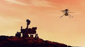 Кислород и вертолет на Марсе. Шаг для человечестваСюжет