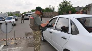 В Донецкой области задержали мужчину с георгиевской лентой и газетой