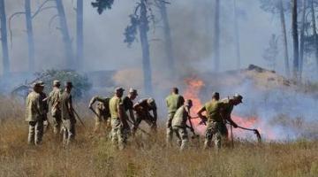 Из-за пожаров в Луганской области открыто уголовное производство