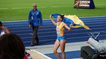 Невероятные эмоции Марины Бех, завоевавшей медаль чемпионата Европы