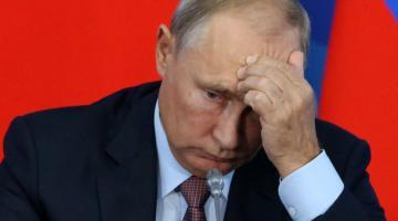 Рейтинг партии Путина опустился на десятилетнее дно