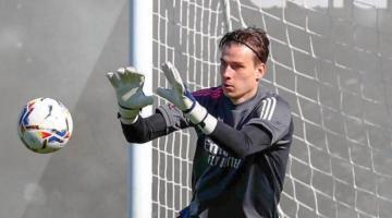 Стало известно, когда Лунин дебютирует в Реале