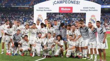 Украинский вратарь Лунин выиграл с Реалом первый трофей