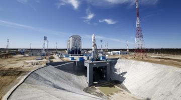 С космодрома Восточный успешно запустили первую ракету