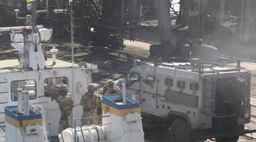 СБУ провела антитеррористические учения в Мариуполе