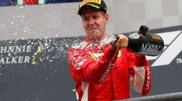 Себастьян Феттель стал победителем Гран-при Бельгии