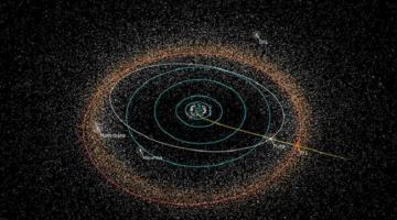 «Новые горизонты» отправили первые научные данные о далеком объекте пояса Койпера