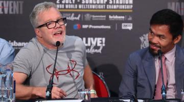 Знаменитый боксер Мэнни Пакьяо уволил своего тренера и даже не сообщил об этом лично