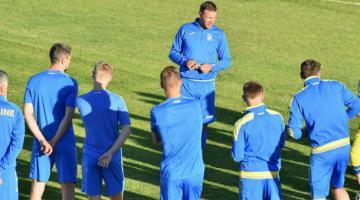 Андрей Шевченко назвал состав на матчи против Италии и Чехии