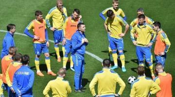 Сборная Украины по футболу сегодня сыграет первый матч в 2018 году