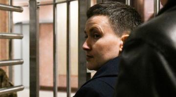 Савченко попала в больницу – сестра