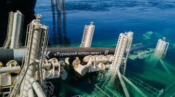 Строительство газопровода в обход Украины перешло на новый этап