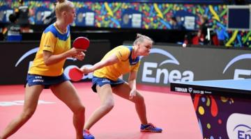 Сборная Украины выиграла первую медаль на чемпионате Европы по настольному теннису