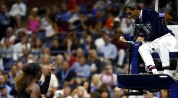 Серену Уильямс оштрафовали на 17 тысяч долларов за поведение в финале US Open