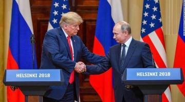 В Пентагоне ответили на решение Трампа пригласить Путина в США