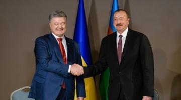Порошенко прилетел в Турцию и уже начал переговоры с Алиевым