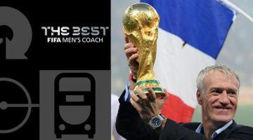 Лучшим тренером года стал Дешам, лучший гол забил Салах