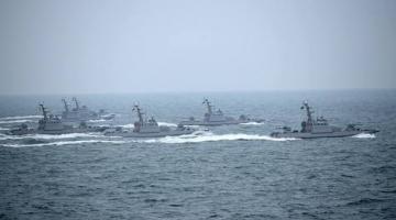 Турчинов анонсировал масштабные военные учения в Азовском море