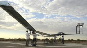 Китай планирует испытания космического беспилотника на солнечной батарее